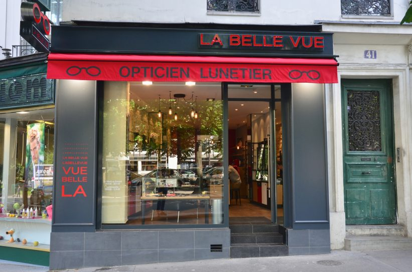 La Belle Vue Opticien Paris La Boutique