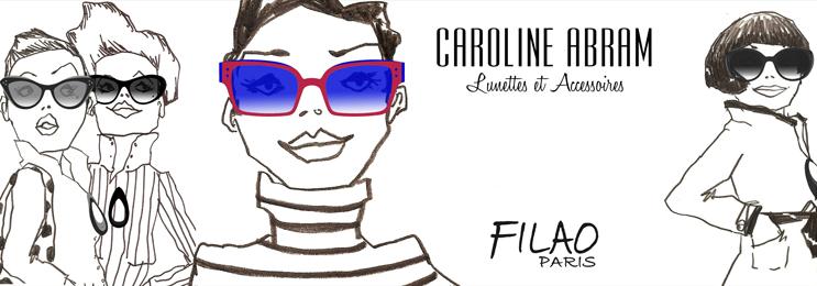 Caroline Abram - La Belle Vue - Opticien Paris