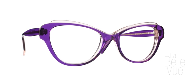 Opticien Paris - Caroline Abram - Binette - Violet Vieux rose - La Belle Vue
