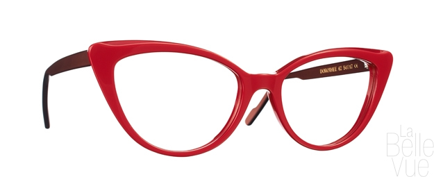 Opticien Paris - Caroline Abram - Dorothee - Rouge sang Marron - La Belle Vue