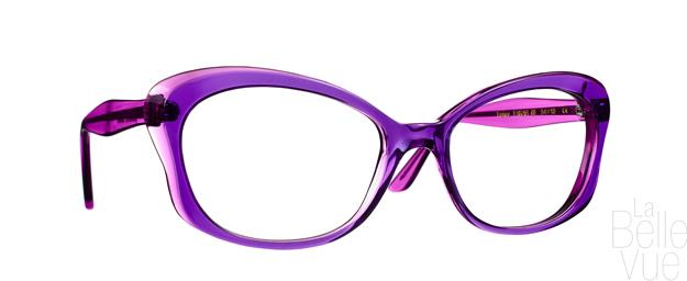Opticien Paris - Caroline Abram - Farah - Bleu Violet - La Belle Vue