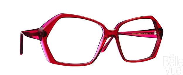 Opticien Paris - Caroline Abram - Fatine - Rouge Fuchsia - La Belle Vue
