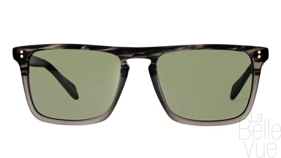 b7aaec259133e Opticien Paris - Oliver Peoples - Bernardo - Matte Storm with Central Grey  Mineral Glass ...