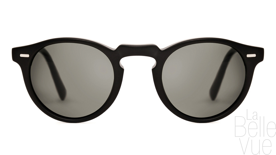 ... Opticien Paris - Oliver Peoples - Gregory Peck Sun - Matte Black with  Midnight Express Polar ... dc28c788ff3f