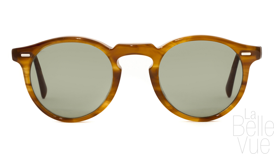 ... Opticien Paris - Oliver Peoples - Gregory Peck Sun - Raintree with G15  Mineral Glass ... c1deee175a1d